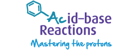 Acid–base reactions logo